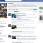 TopGuitar zdobywa Facebook'a