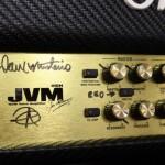 Dave Mustaine własnoręcznie podpisał 10 wzmacniaczy Marshall JVM 410HCF!