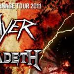 Slayer i Megadeth w Łodzi