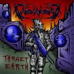 """Okładka """"Target Earth"""" Voivod"""