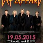 Def Leppard na warszawskim Torwarze