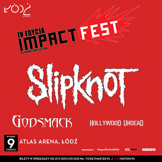 impact festival 2015 godsmack slipknot