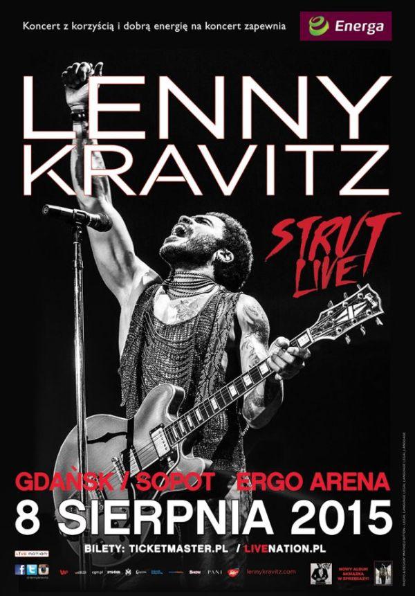Lenny Kravitz 2015 Ergo Arena