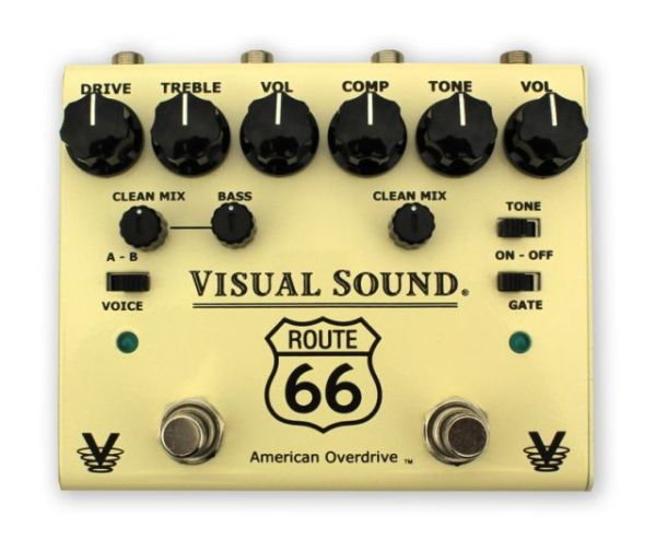 Visual Sound V3 Route 66 Overdrive Compression