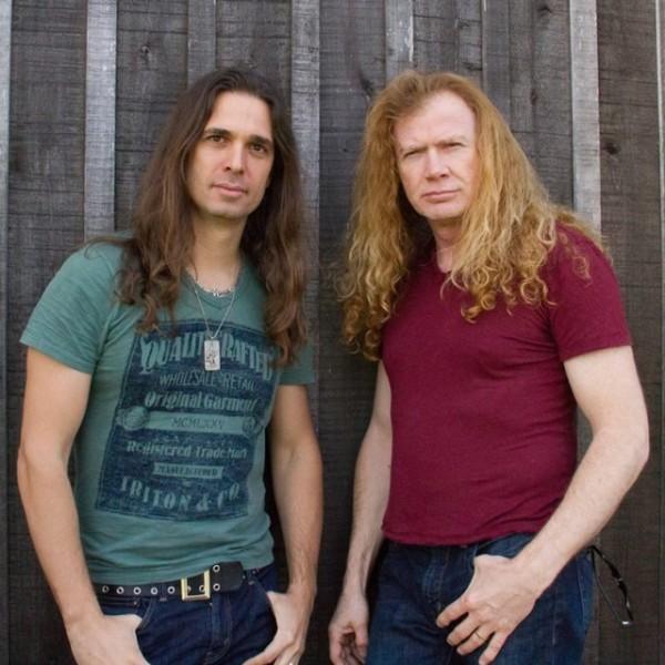 Megadeth Kiko Loureiro Dave Mustaine