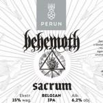 Behemoth prezentuje piwo Sacrum