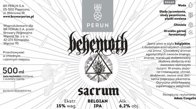 behemoth piwo sacrum